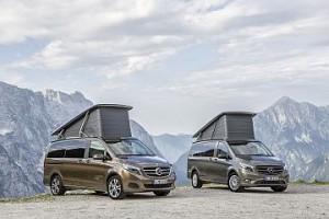 Marco Polo: los nuevos vehículos de ocio y tiempo libre de Mercedes-Benz