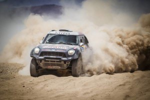 Nasser Al-Attiyah triunfa con el MINI ALL4 Racing