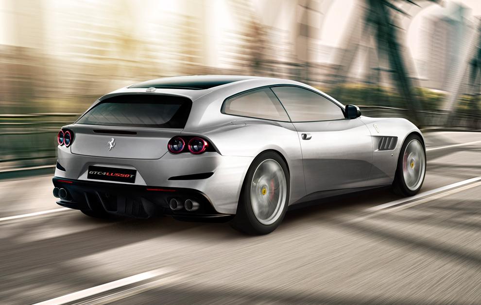 Ferrari GTC4Lusso T: corazón turbo para el estandarte de Ferrari