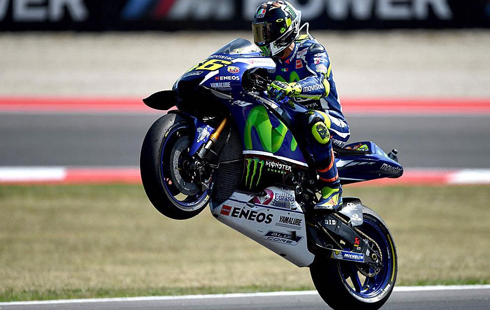 """Rossi: """"Lo único que me interesa ahora es hacer buenas carreras"""""""